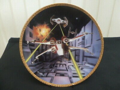 Hamilton Star Wars Collector Plate Red Five X-Wing Fighter