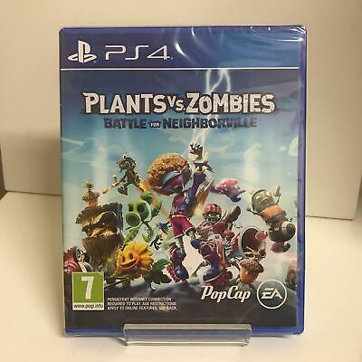 Plants vs Zombies: Battle for Neighborville PS4 Game - New & Factory Sealed