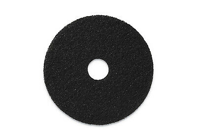 "Americo Black Stripping Floor Pad - 15"" 5/cs"