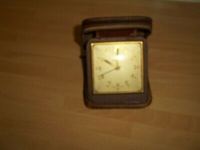 old ingersoll travel alarm clock for spares only