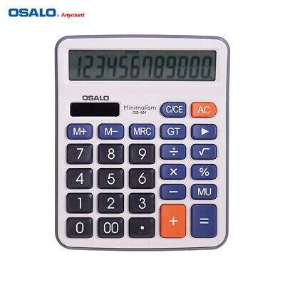 OSALO Desktop Electronic Calculator Standard Function Basic Counter with C6X3