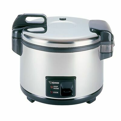 Zojirushi NYC-36 Stainless Steel Electric 20 Cup Rice Cooker
