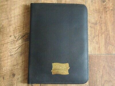 Thomas Cook Signature 1990'S Travel Document Wallet Collectible