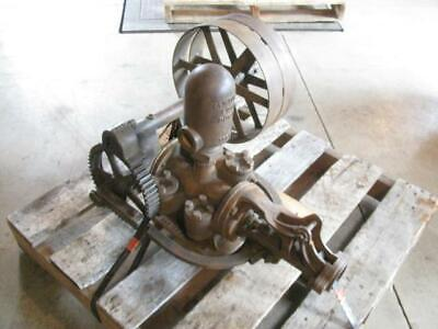 Rare Antique Steam Traction Engine Water Wagon Myers Well Hand Or Belt Pump