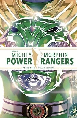 MIGHTY MORPHIN POWER RANGERS YEAR ONE DELUXE HC Hardcover 1 MMPR Boom Pre-Sale