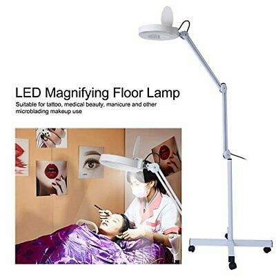 Lampe grossissante LED Lampe loupe 8 dioptries Lampe de travail Lampe