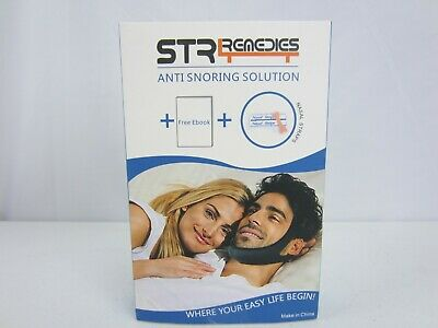 STR Renedies Anti Snoring Solution Chin Strap