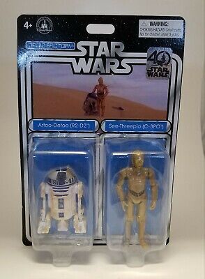 Star Wars 40th Anniversary R2-D2 C3PO Droid Factory Disney Parks Exclusive