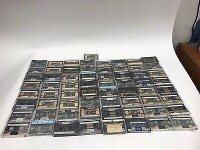 Large Lot Of 65 Vtg Recordable Blank Cassette Tapes Maxell XLII XLII-S 90 100 Xl