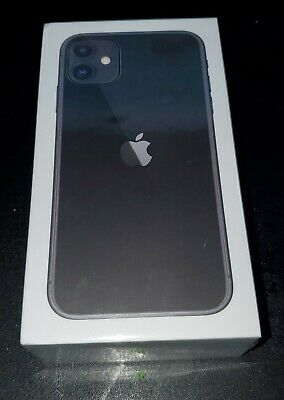 Apple iPhone 11 - 128GB - Black (Carrier LOCK) (CDMA GSM) SEALED BAD ESN TMOBILE