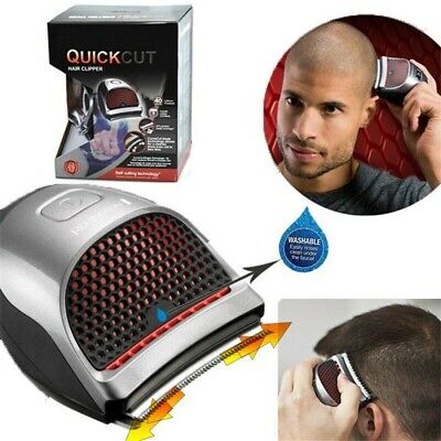Men's Hair Cut Electric Clipper Cord Cordless Rechargeable Mini Washable Trimmer