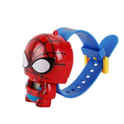 Avengers Spider-man Children's Wrist Watch Kids Cartoon Toys Gift