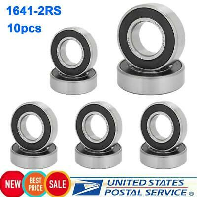 10 NMD 1641-2RS BEARINGS 1X2X9//16 1.000X2.000X0.563 FITS GRAVELY 500 //5000 AXLES