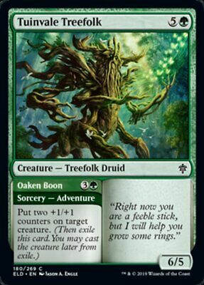 4x SILVANTROPO DI TUINVALLE - TUINVALE TREEFOLK Magic ELD Mint