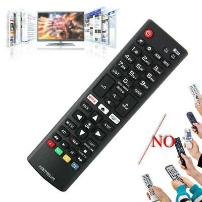 Replacement Remote Control Smart for LG TV AKB75095308 + Netflix Amazon Keys