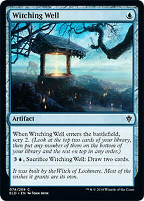 4x POZZO DELLE STREGONERIE - WITCHING WELL Magic ELD Mint