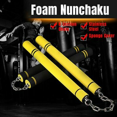 Double Truncated Stick Bruce Lee Nun Chucks Weapon Game Death Kung Chinese