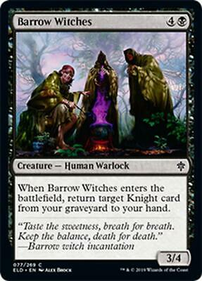 4x STREGHE DEI TUMULI - BARROW WITCHES Magic ELD Mint