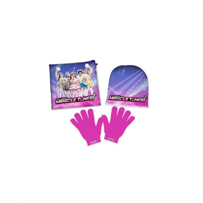 Set Guanti Cappello Scaldacollo Con Personaggi Miracle Tunes Rosa