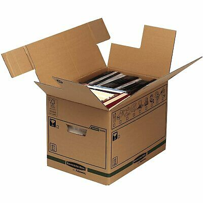 BANKERS BOX Large Transit Removal Cardboard Removal Box - 5 Pack