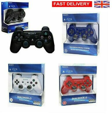 UK DualShock Wireless Bluetooth Game Controller Gamepad for PS3 PlaySation 3 LR