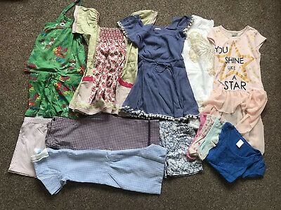 NEXT MONSOON Summer Mixed Bundle 6-7 Year Old Girls Shorts Dresses 11 ITEMS+