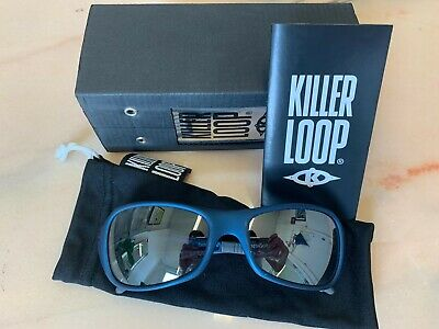 KILLER LOOP Sunglasses - WITH BOX AND LIMITED EDITION POUCH  - 100% UV !