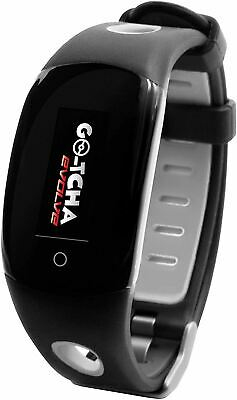 Genuine Datel Go-Tcha Evolve Touch Wristband Smartwatch Pokemon Go Black/Grey