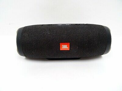 JBL Charge 3 Waterproof Portable Rechargeable Bluetooth Speaker -Blk 03/L158849A