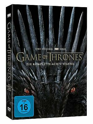 Game Of Thrones 8 Die Komplette Dvd Finale Staffel Season 8 Deutsch Neu / Ovp