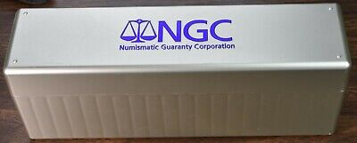 NGC Storage Plastic Box - Holds Up To 20 Slabbed NGC Coins