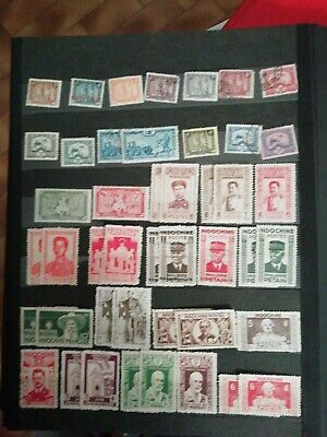 Timbres Indochine