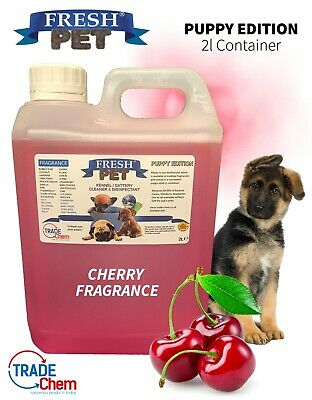FRESH PET Puppy Dog Disinfectant Deodoriser Cleaner ANIMAL PAW SAFE 2L CHERRY