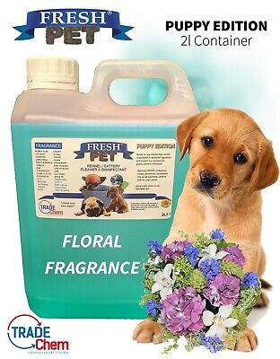 FRESH PET Puppy Dog Disinfectant Cleaner ANIMAL PAW SAFE 2L FLORAL