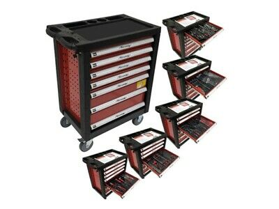 Neilsen 7 Drawer Tool Cabinet Plus Tools Fully Equipped Roller Wheels