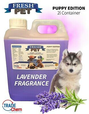FRESH PET Puppy Dog Disinfectant Cleaner ANIMAL PAW SAFE 2L LAVENDER