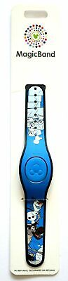 Disney Parks Frozen 2 Olaf Sven Blue Magic Band Magicband New In Hand