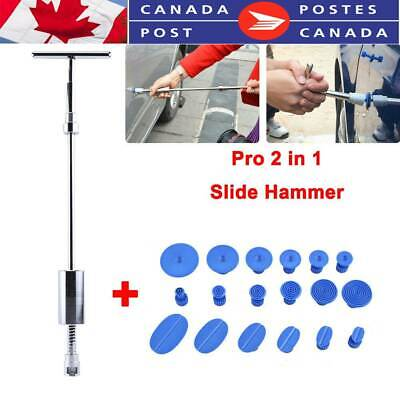 T Bar Slide Hammer Glue Puller Tabs Auto Body Paintless Dent Removal CA Stock