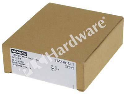 New Sealed Siemens 6GK7343-1EX30-0XE0 6GK7 343-1EX30-0XE0 SIMATIC S7-300 CP343-1