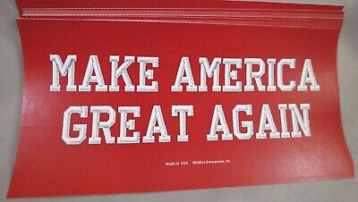 Wholesale Lot Of 20 Make America Great Again Red Hat  Trump Sticker 2016 2020