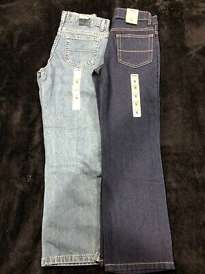 Boys 10 SLIM Jeans Lot Urban Pipeline Relaxed Straight Leg Adjustable Waist 01