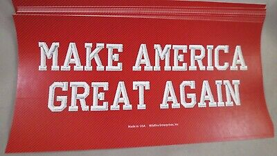 Wholesale Lot Of 10 Make America Great Again Red Hat  Trump Sticker '16 '20 Usa