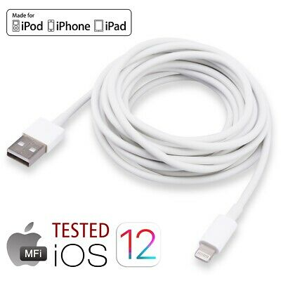 Apple MFI Certified Extra Long Fast Charging Cable Fr iPad iPhone iPod 2019 lot
