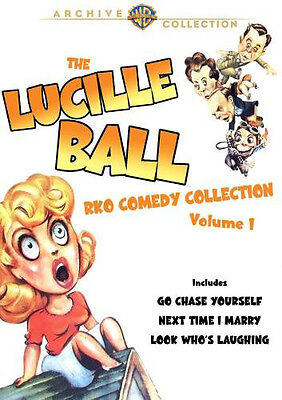 Lucille Ball RKO Comedy Collection, Vol. 1 DVD 2-Discs Go Chase Yourself, etc