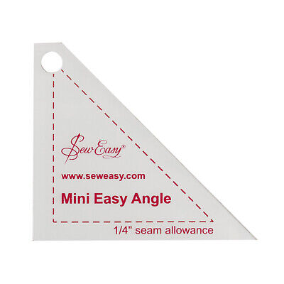Sew Easy NL4153.9 | Mini Clear Easy Angle Template 2.87 x 2.5""