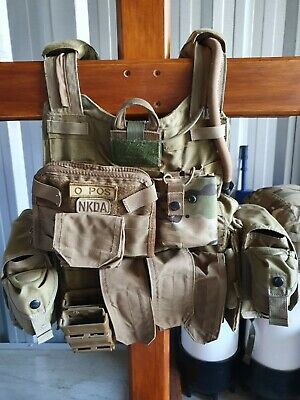 PREOWNED - Eagle Industries MAR-CIRAS carrier with various MOLLE attachments