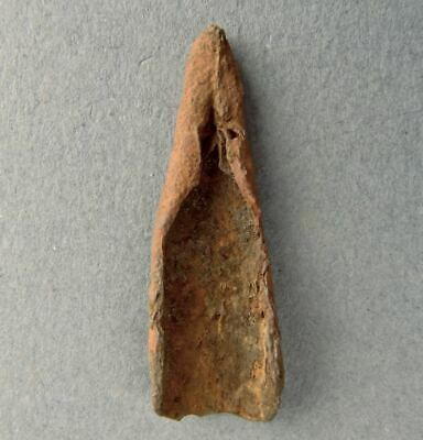 7000-3000 BC OLD COPPER CULTURE OVATE CONICAL POINT Vilas Gogebic Mussatti 41