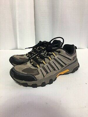 SIZE 9.5 4E Wide Mens Fila Brown Travail Trail Shoes