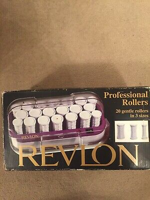 Brand New 20 Professional Rollers By Revlon