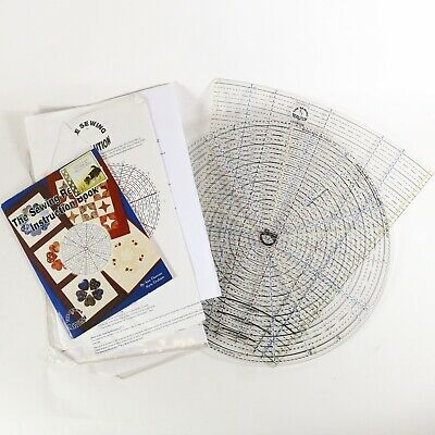 """The Sewing Revolution 5/7 13"""" Acrylic Ruler With Extension, Instructions, Book"""